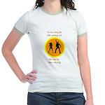 Disco Nursing Jr. Ringer T-Shirt