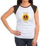 Disco Nursing Women's Cap Sleeve T-Shirt