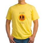 Disco Nursing Yellow T-Shirt
