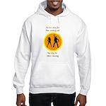 Disco Nursing Hooded Sweatshirt