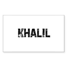 Khalil Rectangle Decal