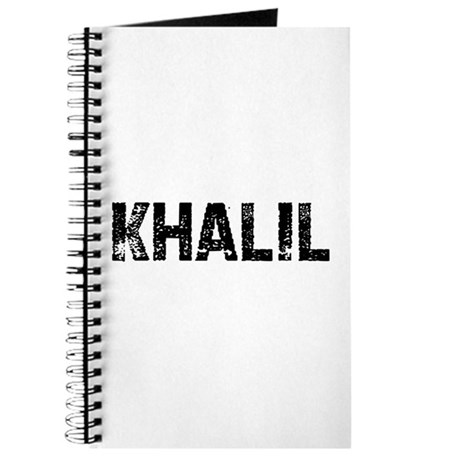 Khalil Journal