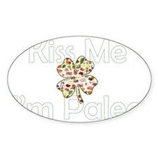 Kiss Me Im Paleo Decal