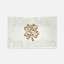 Kiss Me Im Paleo Rectangle Magnet