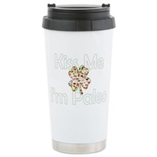Kiss Me Im Paleo Travel Mug