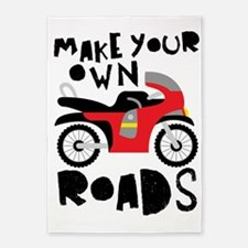Make Your Own Roads 5'x7'Area Rug
