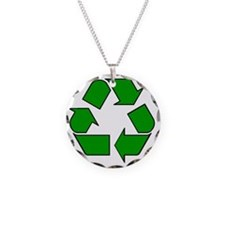 Reuse, recycle, Reduce Necklace
