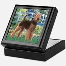 Bridge - Airedale #6 Keepsake Box