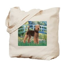 Bridge - Airedale #6 Tote Bag