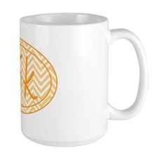 15k Orange Chevron Mug