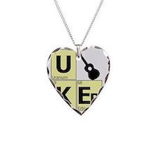 uker elements block gold Necklace