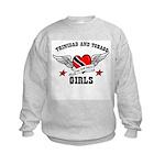 Trinidad has the best girls Kids Sweatshirt