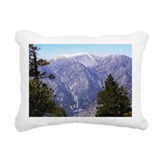 Mount San Antonio Rectangular Canvas Pillow