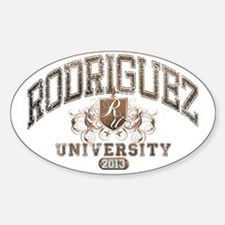 Rodriguez Last Name University Clas Decal
