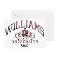 Williams last Name UNiversity Class  Greeting Card