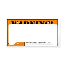AR-15 Lead Warning License Plate Holder