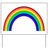 Rainbow Yard Signs