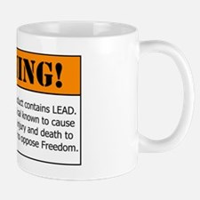 AR-15 Lead Warning Mug