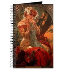 Alphonse Mucha Greeting Card Journal