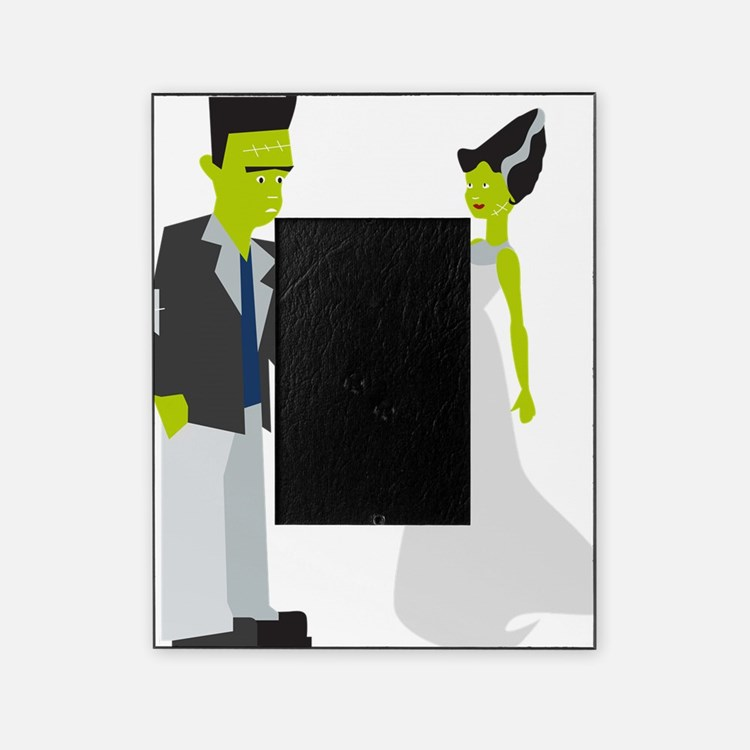 Frankenstein & Bride Picture Frame