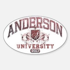 Anderson Class of 2013 University Decal