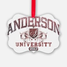 Anderson Class of 2013 University Ornament