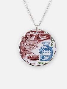 Vintage 1956 Monaco Rally Ca Necklace