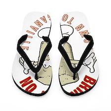 Veganville Flip Flops