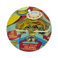 Pinball Wizard Round Ornament