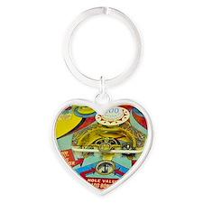 Pinball Wizard Heart Keychain