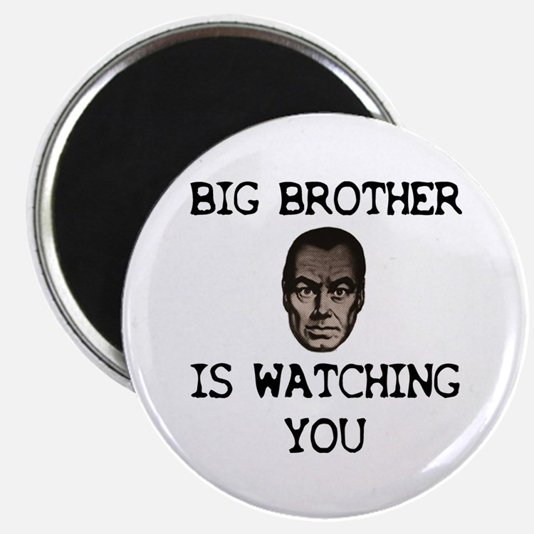 """BIG BROTHER IS WATCHING YOU 2.25"""" Magnet (100 pack"""
