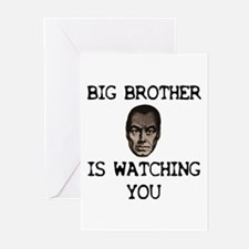 BIG BROTHER IS WATCHING YOU Greeting Cards (Packag