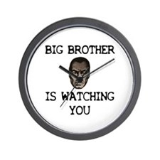 BIG BROTHER IS WATCHING YOU Wall Clock