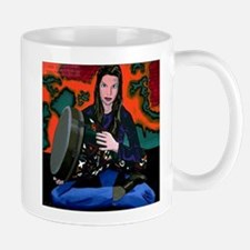 """Heather With Djembe"" Coffee Mug"
