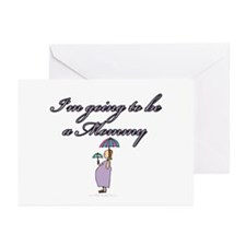 Going to be a mom-hs Greeting Cards (Pk of 10)