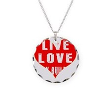 Live Love Body Building Desi Necklace