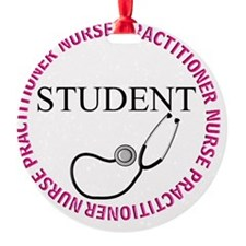 NURSE PRACTITIONER 4 STUDENT Ornament