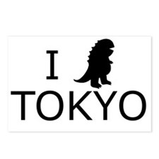 I heart tokyo Postcards (Package of 8)