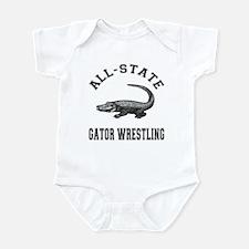 All-State Gator Wrestling Infant Bodysuit