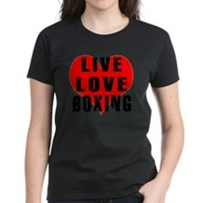 Live Love Boxing Designs Tee