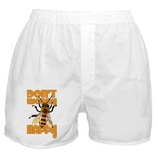 Dont worry be happy Bee Boxer Shorts