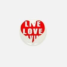 Live Love Caving Designs Mini Button