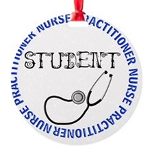 NURSE PRACTITIONER 5 STUDENT Ornament