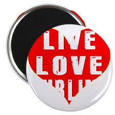 Live Love Curling Designs Magnet