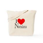 I Love Nostradamus Tote Bag