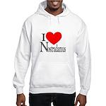 I Love Nostradamus Hooded Sweatshirt
