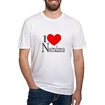 I Love Nostradamus Fitted T-Shirt