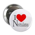 I Love Nostradamus Button