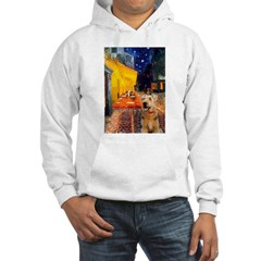 Cafe - Airedale (S) Hoodie