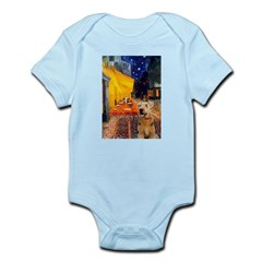 Cafe - Airedale (S) Infant Bodysuit